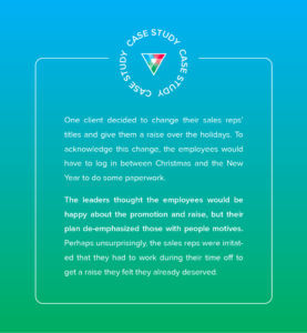 Core Strengths client case study #2 for successful change management